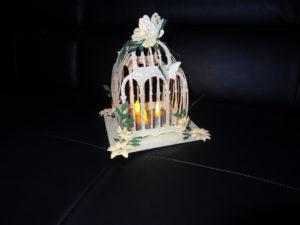cage argentee