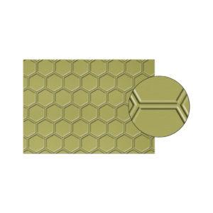gaufrage stampin'up honeycomb