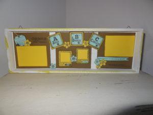 Tableau sur plateau desir2scrap