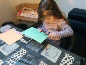 atelier scrapbooking enfant banderole