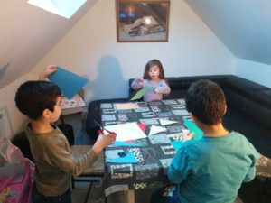 atelier scrapbooking enfant loisir créatifs