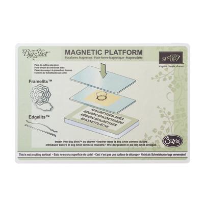 Plaque magnétique