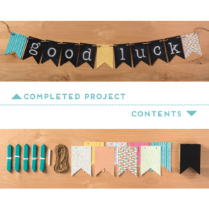 Chalkboard Banner Simply Created Kit
