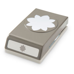 perforatrice stampin'up fleur médallion