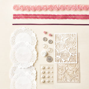 kit stampin'up scrapbooking artisan embellissement
