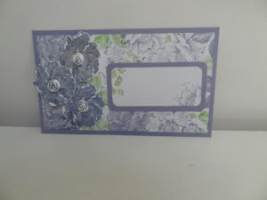 carte avec set de tampon stampin'up stippled blossoms