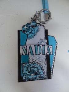 Badge matériel stampin'up et marque page
