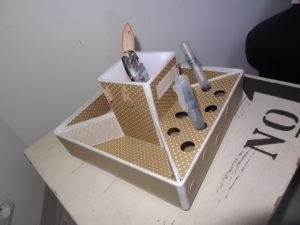 atelier cartonnage de sandrine, à l'association créa roumois