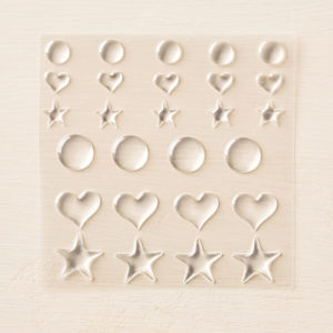 stickers transparent stampin'up