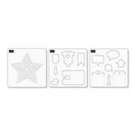 stampin'up! ecledic paper piercing pack