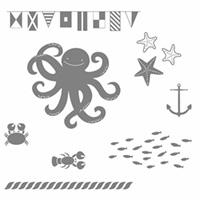 set de tampon stampin'up! méduse thème de la mer