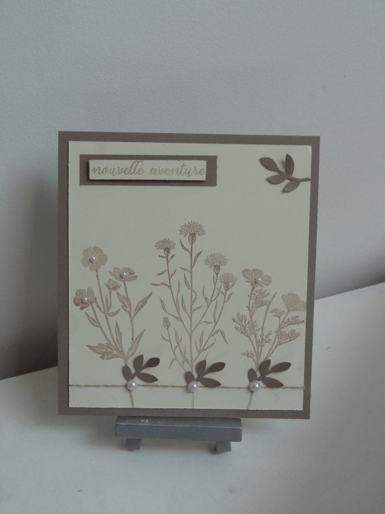 Set de tampon fleurs de l'âge stampin'up!