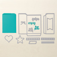 petite pochette a faire avec la big shot stampin'up thinlits dies