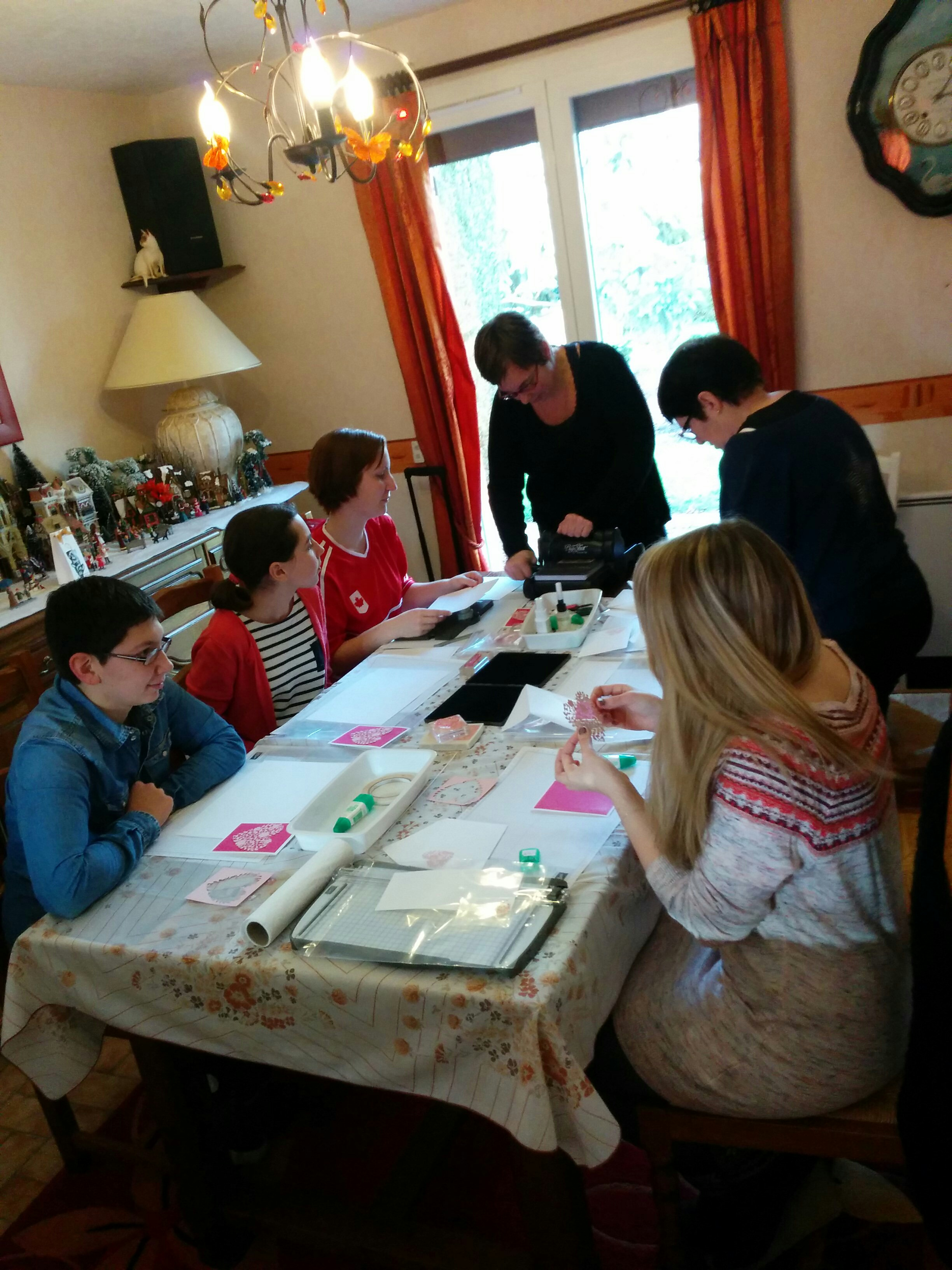 atelier stampin'up! contactez moi