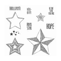 set de tampon stampin'up étoile