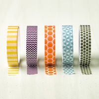 washi tape stampin'up in color
