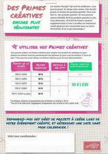 stampin'up crimes créatives!