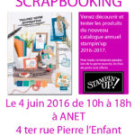 porte ouverte stampin'up anet