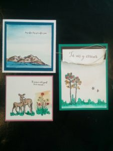 set de tampon in the meadow stampinup