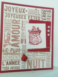 father christmas and joie a profustion set de tampons stampin automne hiver 2016