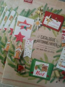 catalogue stampin'up automne hiver 2016/2017