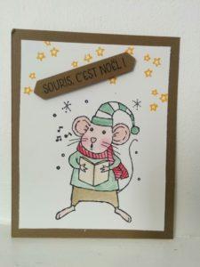 set de tampons stampin'Up souris à la vie!