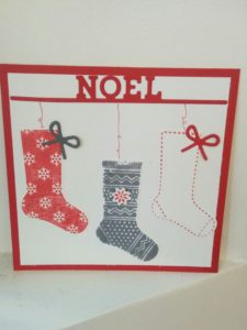Set de tampon stampin'uP§ BAS DE NOEL