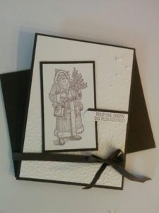 set de tampons stampin'up father christmas