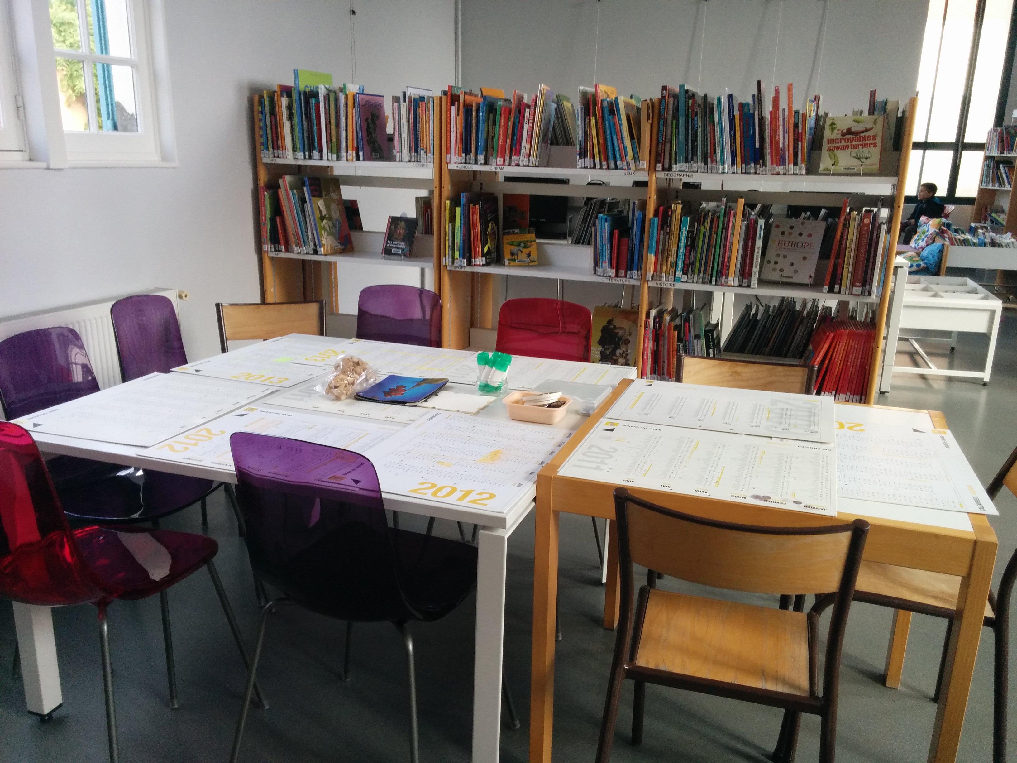 bibliothèque d'anet atelier enfant