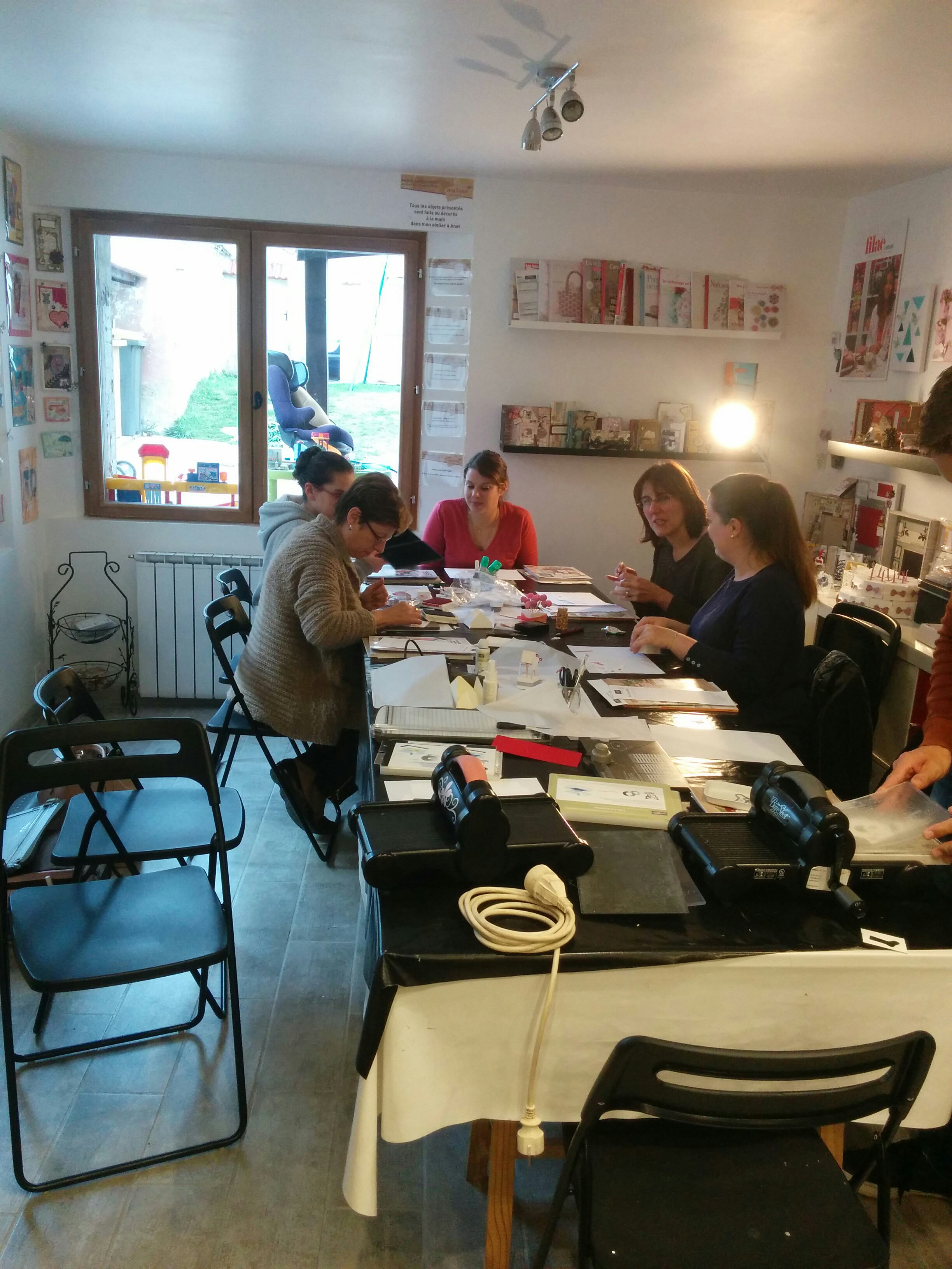 ateliers stampin'up a anet