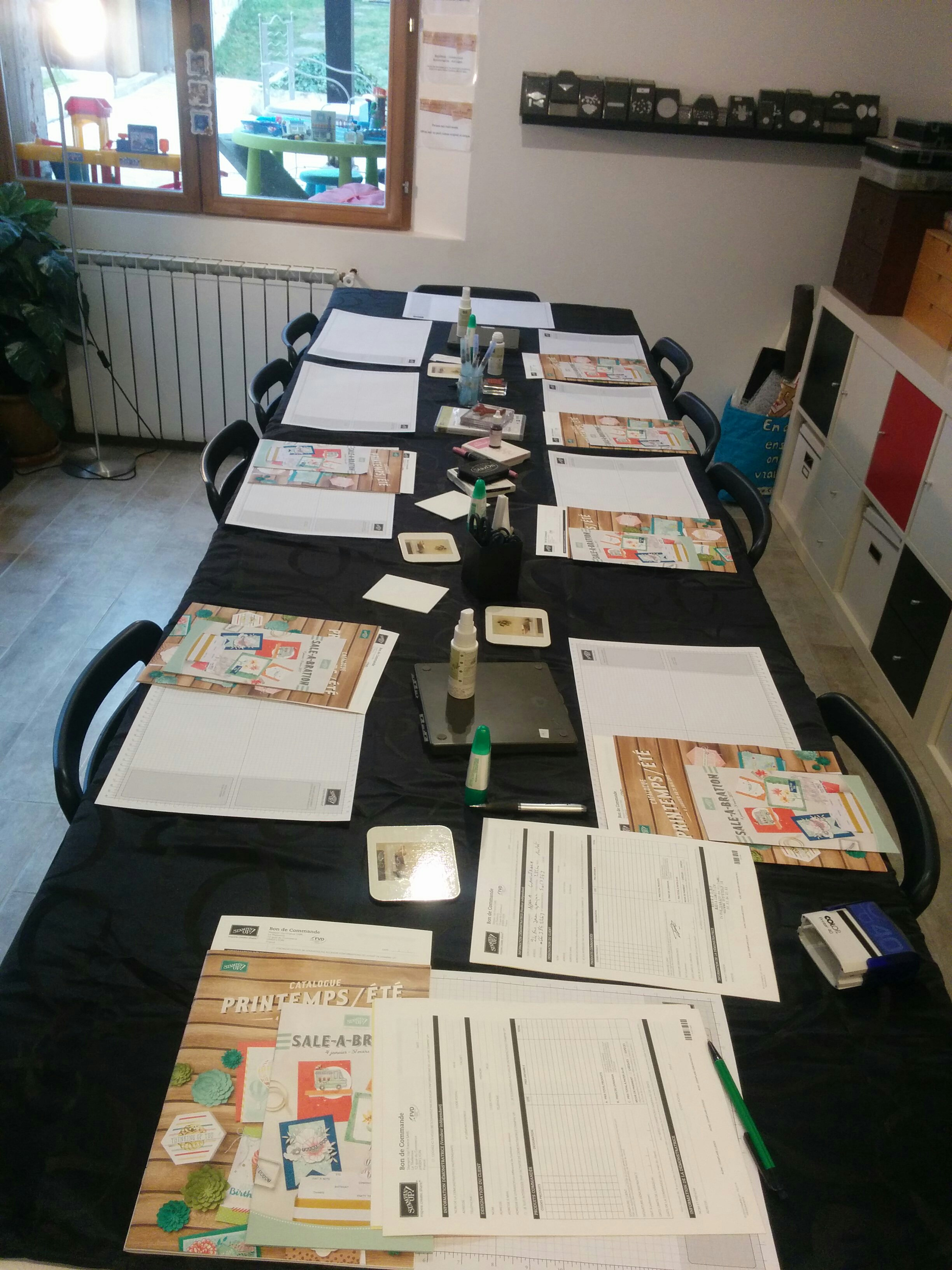atelier à anet scrapbooking stampinup