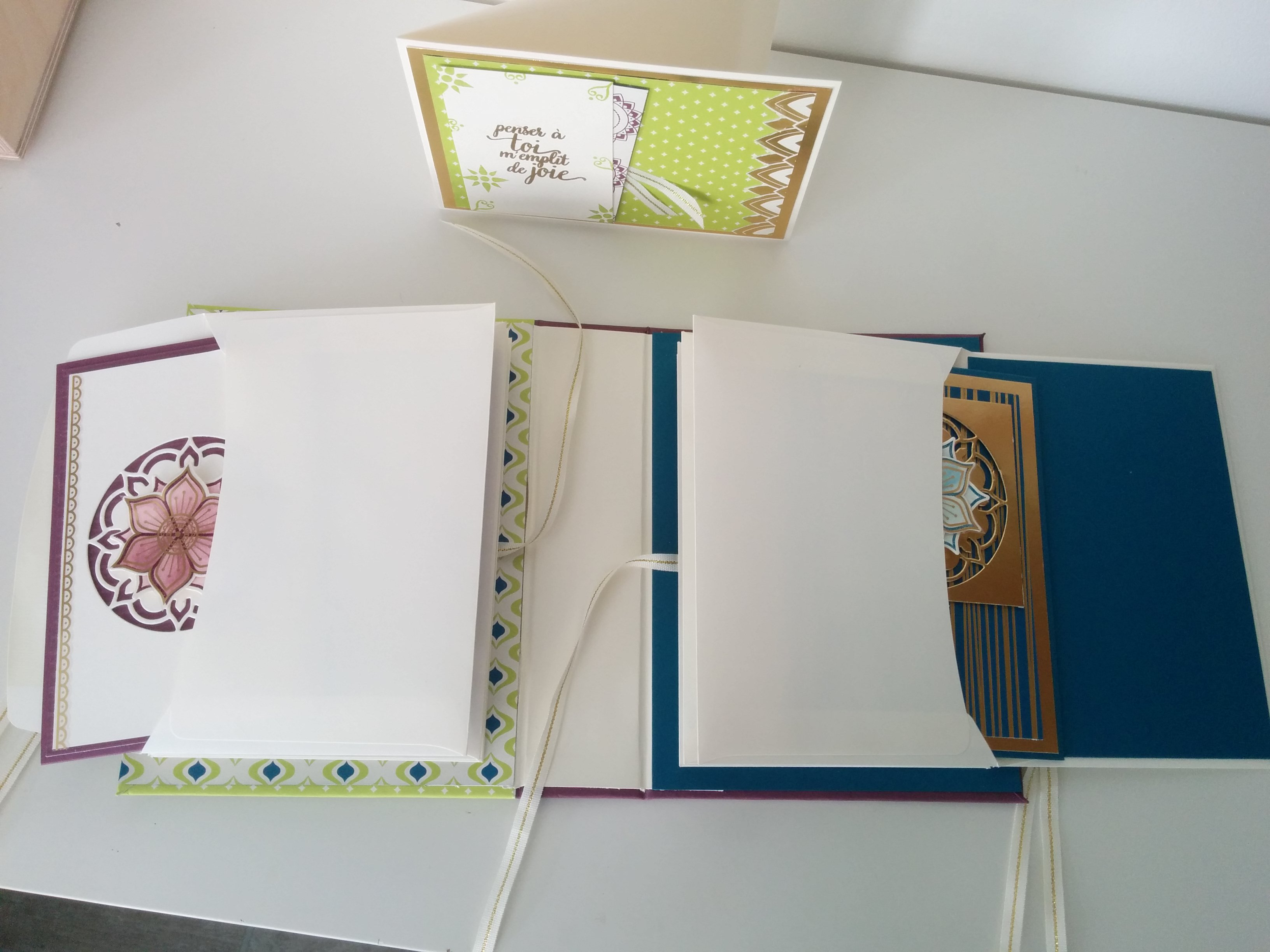 album a cartes stampin'up palaisoriental