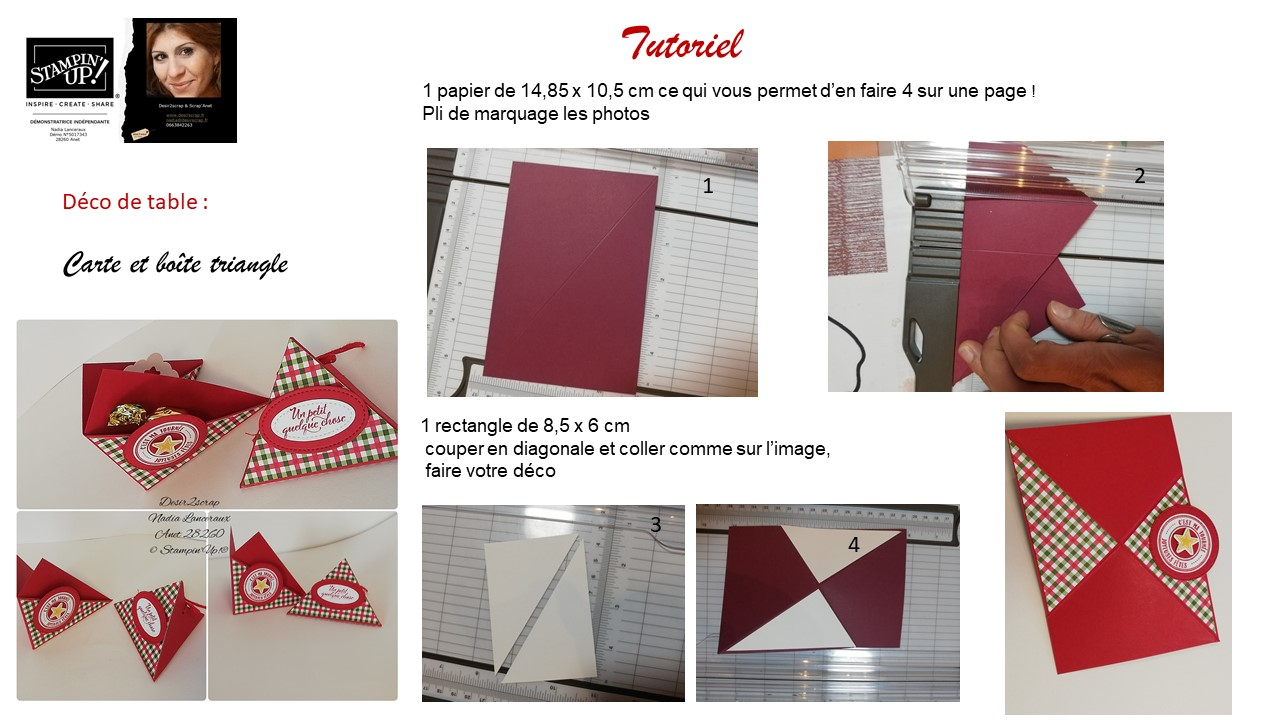 Stampinup-tutoriel-décoration-table-de-noel-desir2scrap-vidéo-youtube