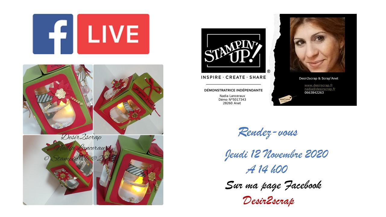 lanterne stampinup live facebook